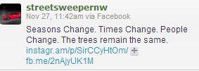 tweets we like on trees and seasons